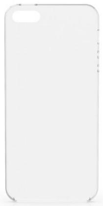 Puzdrá a kryty Zadný kryt pre Apple iPhone 5/5S/SE, priehľadná