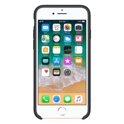 Puzdrá a kryty Zadný kryt pre Apple iPhone 7/8, čierna