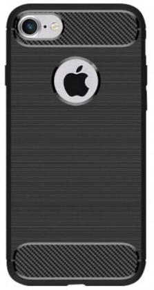 Puzdrá a kryty Zadný kryt pre Apple iPhone 7/8, karbón, čierna