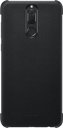 Puzdrá a kryty Zadný kryt pre Huawei Mate 10 Lite, imitácia kože, čierna