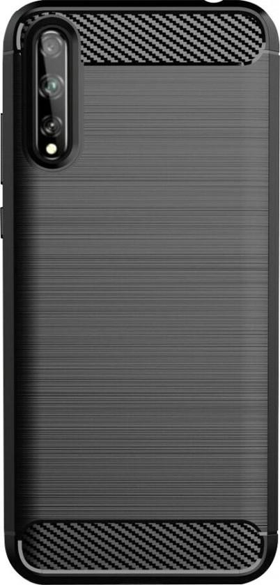Puzdrá a kryty Zadný kryt pre Huawei P Smart 2020, Carbon, čierna