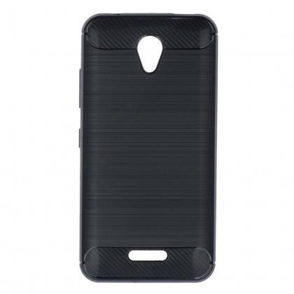 Puzdrá a kryty Zadný kryt pre Huawei P10, carbon, čierna