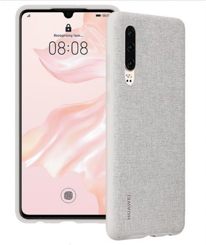 Puzdrá a kryty Zadný kryt pre Huawei P30, šedá
