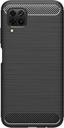 Puzdrá a kryty Zadný kryt pre Huawei P40 lite, Carbon, čierna
