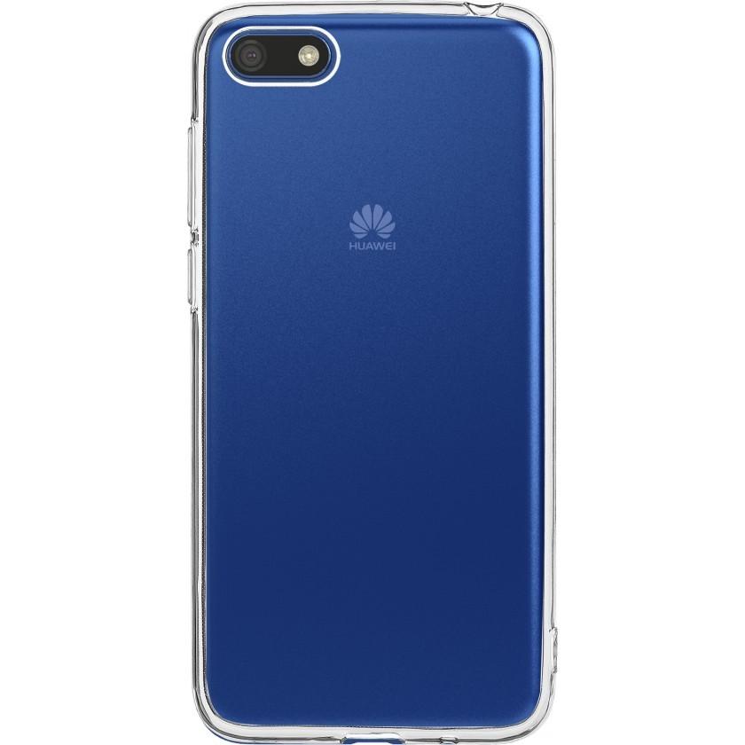 Puzdrá a kryty Zadný kryt pre Huawei Y5 2018/Honor 7S, priehľadná
