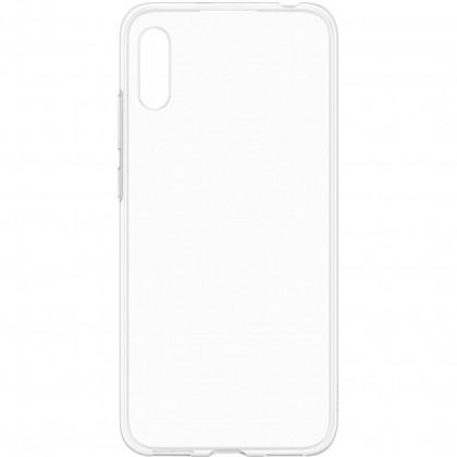 Puzdrá a kryty Zadný kryt pre Huawei Y6 2019, priehľadná
