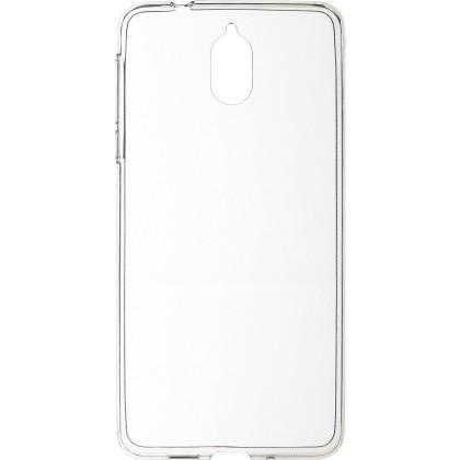 Puzdrá a kryty Zadný kryt pre Nokia 3.1, priehľadná