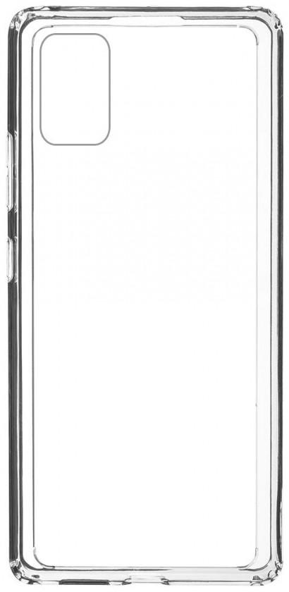 Puzdrá a kryty Zadný kryt pre Samsung Galaxy A41, Comfort, priehľadná