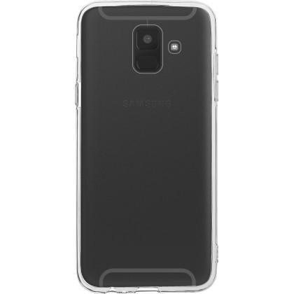 Puzdrá a kryty Zadný kryt pre Samsung Galaxy A6 Plus 2018, Slim, priehľadná