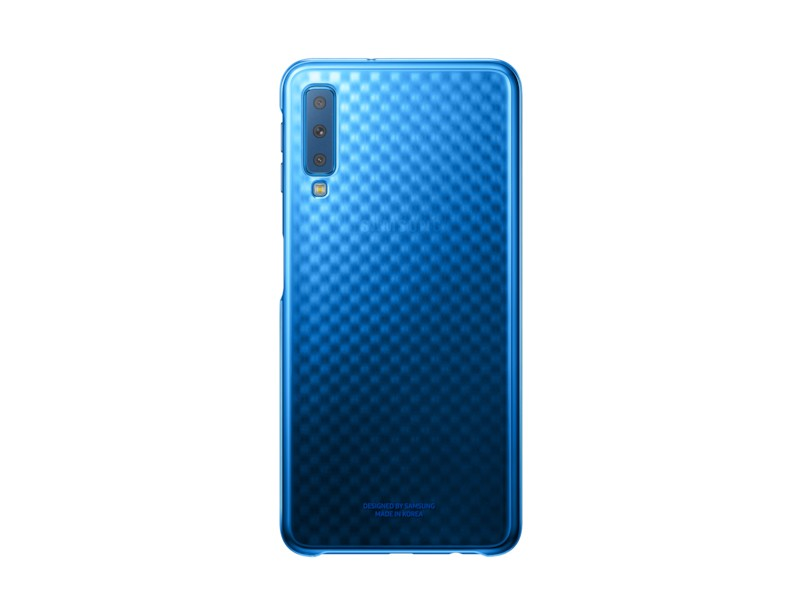 Puzdrá a kryty Zadný kryt pre Samsung Galaxy A7, modrá