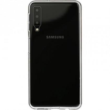 Puzdrá a kryty Zadný kryt pre Samsung Galaxy A7, priehľadná