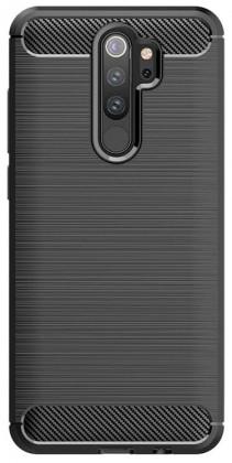 Puzdrá a kryty Zadný kryt pre Xiaomi Redmi 9, Carbon, čierná