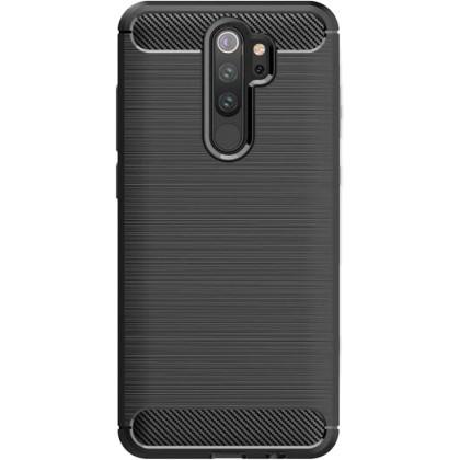 Puzdrá a kryty Zadný kryt pre Xiaomi Redmi Note 8 Pro, Carbon, čierna