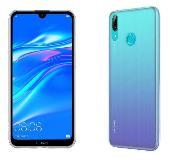 Puzdrá Huawei Zadný kryt pre Huawei Y7 2019, priehľadná