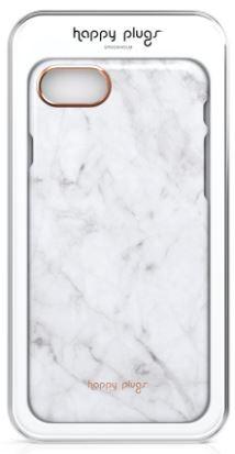 Puzdrá iPhone Zadný kryt pre Apple iPhone 7/8 slim, mramorová biela