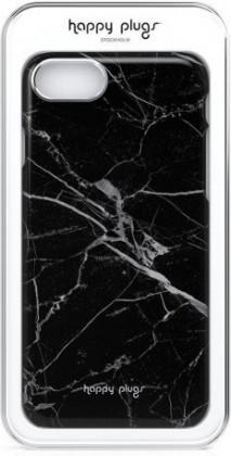Puzdrá iPhone Zadný kryt pre Apple iPhone 7/8 slim, mramorová čierna
