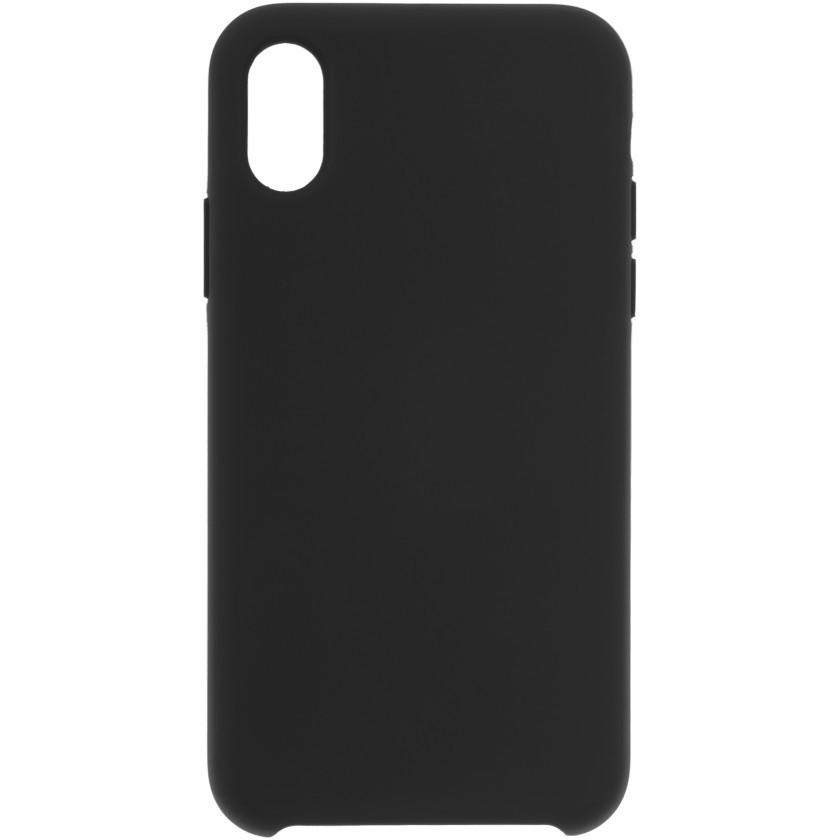 Puzdrá iPhone Zadný kryt pre Apple iPhone XR, čierna