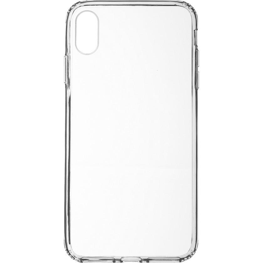 Puzdrá iPhone Zadný kryt pre Apple iPhone XS MAX, priehľadná