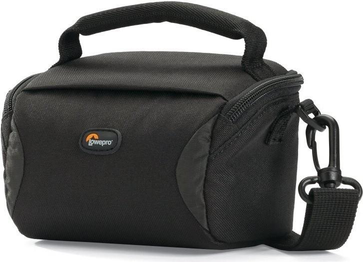 Puzdrá, obaly Brašňa pre fotoaparát Lowepro Format 100, 13,5x9x8cm, čierna
