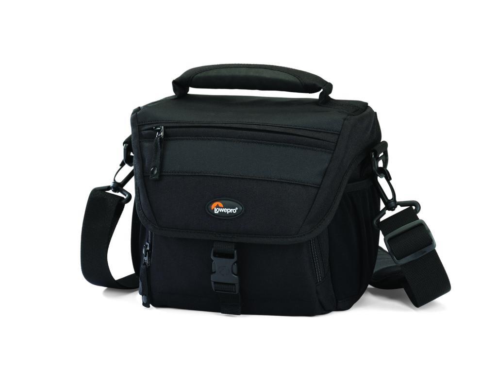Puzdrá, obaly Brašňa pre fotoaparát Lowepro Nova 160AW, 20x11x17cm, čierna