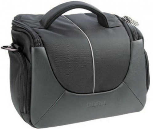 Puzdrá, obaly Doerr Yuma Photo Bag L black/silver
