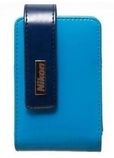 Puzdrá, obaly Nikon Puzdro CS-S30 modré pre S3100-4300