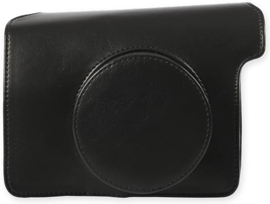Puzdrá, obaly Puzdro pre Instax Mini 300, kožené, čierna