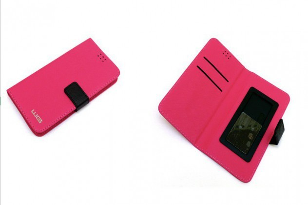"Puzdrá, obaly Puzdro Unibook - pure PINK 5 """