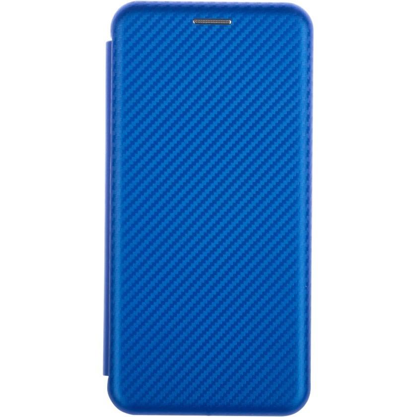 Puzdrá Samsung Puzdro pre Samsung Galaxy A50, evolution karbon, modrá