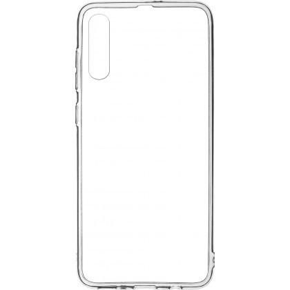 Puzdrá Samsung Zadný kryt pre Samsung A70 priehľadná