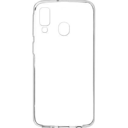 Puzdrá Samsung Zadný kryt pre Samsung Galaxy A40, slim, priehľadná
