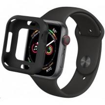 Puzdro COTEetCI pre Apple Watch 44mm, lesklá čierna