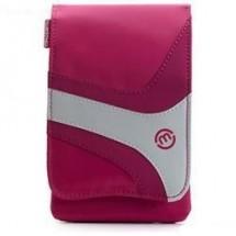 Puzdro Maloperro pro smartphone, digit. fotoaparát, ružová/biela