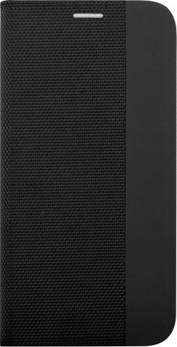 Puzdro na iPhone 7/8, SE (2020), Flipbook, čierne