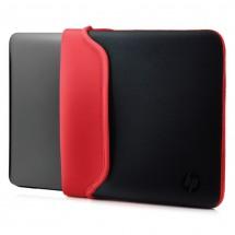 Puzdro na notebook HP 15,6'', Neoprene Sleeve, čierna/červená