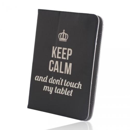 "Púzdro na tablet 7-8"" GreenGo Keep Calm (LCSKCUN7BK)"