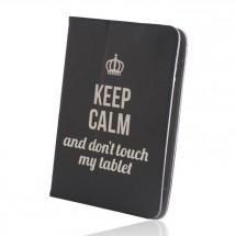 "Púzdro na tablet 9-10"" GreenGo Keep Calm (LCSKCUN9BK)"