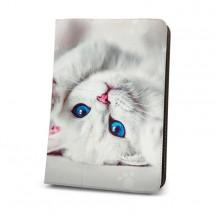 """Puzdro na tablet GreenGo Cute Kitty, 7""""- 8"""""""