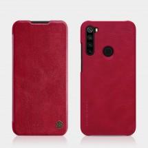 Puzdro na Xiaomi Redmi Note 8, kožené, červené