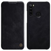 Puzdro na Xiaomi Redmi Note 8, kožené, čierne