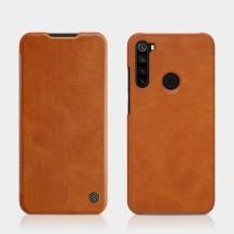 Puzdro na Xiaomi Redmi Note 8, kožené, hnedé