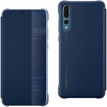 Puzdro pre Huawei P30 LITE Smart View, modrá