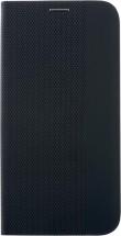 Puzdro pre Motorola E6s/E6i, Flipbook Duet, čierna