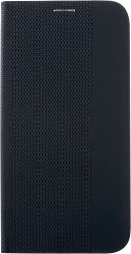 Puzdro pre Motorola E6s, Flipbook Duet, čierna