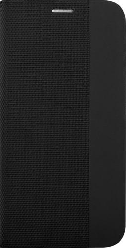 Puzdro pre Motorola G8, Flipbook Duet, čierna