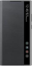 Puzdro pre Samsung Galaxy Note 20 Ultra, clear view flip, čierna