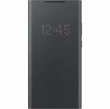 Puzdro pre Samsung Galaxy Note 20 Ultra, LED view flip, čierna