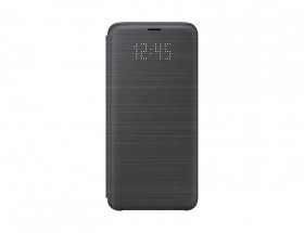 Puzdro pre Samsung Galaxy S9 s displejom, čierna