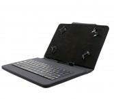"""Puzdro s klávesnicou C-TECH Protect pre tablet 8"""", čierna"""