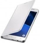 Puzdro Samsung EF-WJ710PW pre Galaxy J7 (2016), bílé